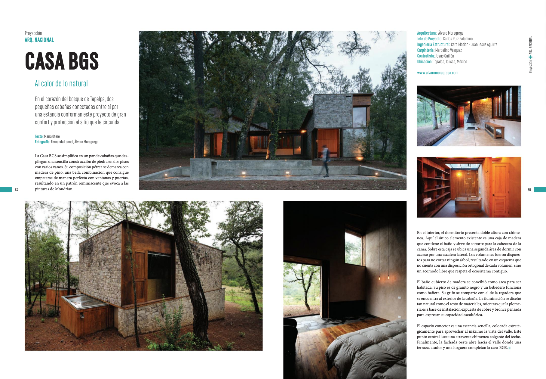 C+T dedicates a few pages to Casa BGS